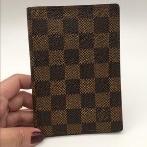 Authentic Louis Vuitton passport cover